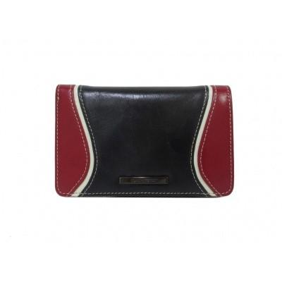 Claudio Ferrici Quatro Stagioni Wallet 23902 Navy/Red
