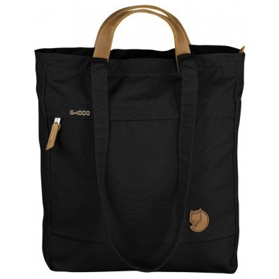 Fjallraven Totepack No.1 Schoulderbag/Backpack F24203 Black