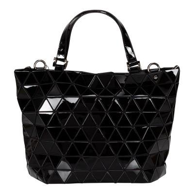 Foto van Malique Geometrical Handtas Groot Zwart