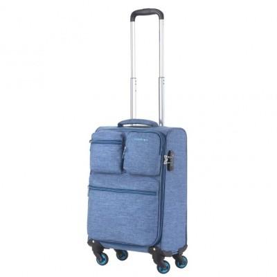 Foto van CarryOn Trolley 55 cm Cargo Blue
