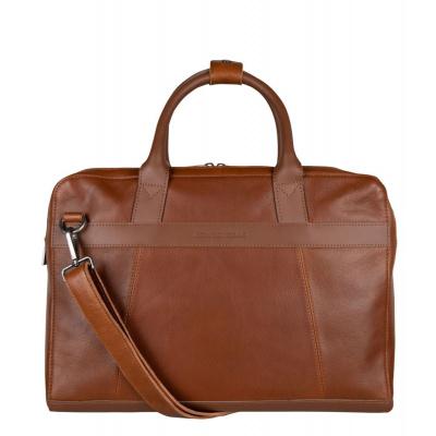 Foto van Cowboysbag Men Laptop Bag Ross 15.6 inch 2291 Tan