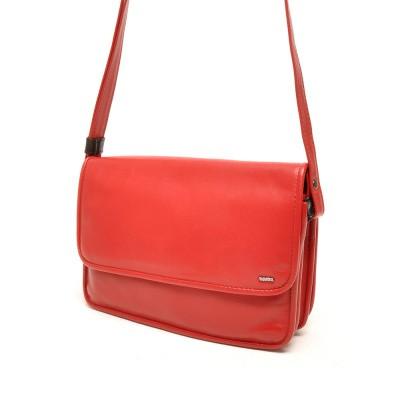 Foto van Berba Soft 005-517 Flap Bag Medium Red-Black