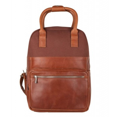 Foto van Cowboysbag Backpack Rocket 13 inch Cognac