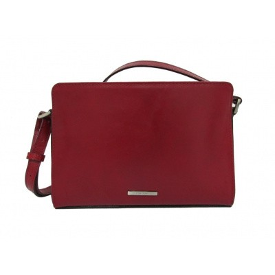 Foto van Claudio Ferrici Classico Shoulderbag 18011 Red