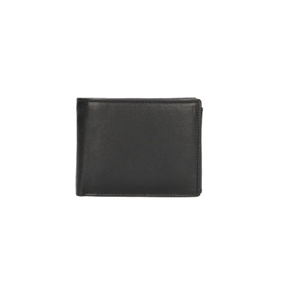 Foto van Leather Design Billfold CN 390 Zwart