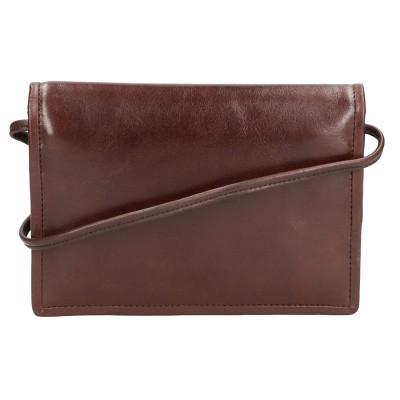 Foto van Leather Design Portemonnee Tas CC 1314 Bruin