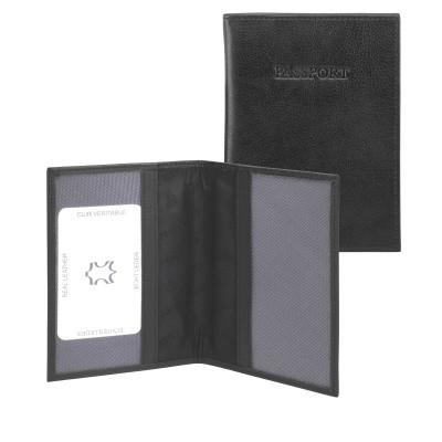 dR Amsterdam Paspoort-etui 15606 Black