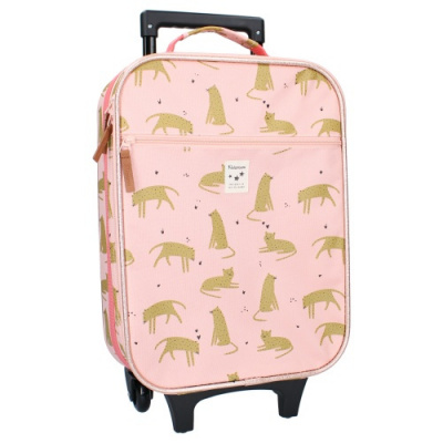 Foto van Kidzroom Trolley Koffer Cuddle Pink