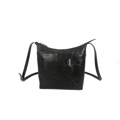 Claudio Ferrici Classico Shoulderbag 18023 Black