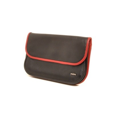 Berba Soft 001-165 Ladies Wallet Black-Red