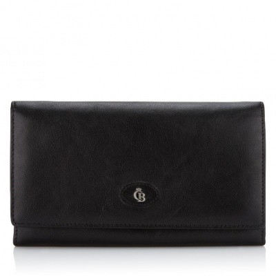 Castelijn & Beerens, 42 2402 Dames portemonnee beugel Zwart