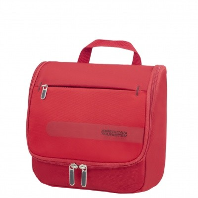 Foto van American tourister HEROLITE HANG.TOILET KIT FORMULA RED