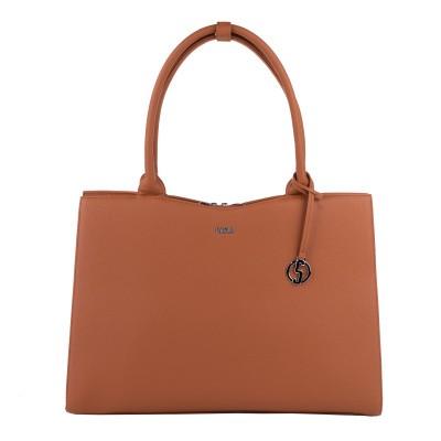 Socha Businessbag Straight Line Cognac - 14
