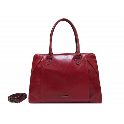 Foto van Claudio Ferrici Pelle Vecchia Business Bag 22062 Red
