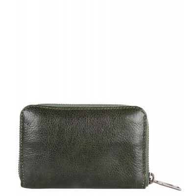 Foto van Cowboysbag Rough Wallet Flora 2196 Dark Green