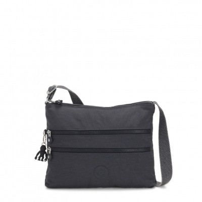 Foto van Kipling Alvar Crossbody Night Grey