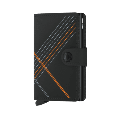 Foto van Secrid Miniwallet Stitch Linea Orange