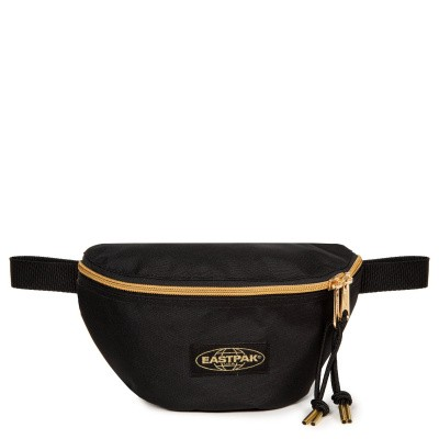 Foto van Eastpak SPRINGER Heuptas Goldout Black-Gold
