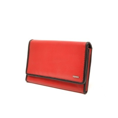 Foto van Berba Soft 001-303 Ladies Wallet Red-Black