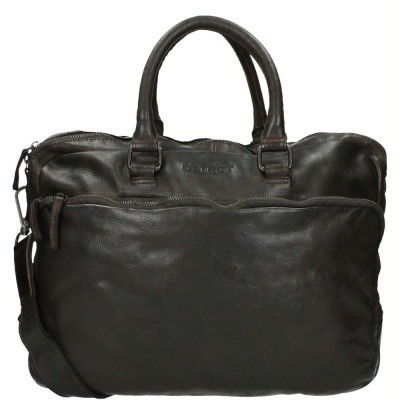 Foto van DSTRCT Pearlstreet 026120 Business Bag 'Victor' Brown