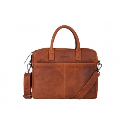 DSTRCT Wall Street Business Bag 'Alfa' 076020 Cognac