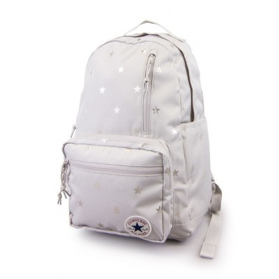 Foto van Converse GO Backpack Pale Grey/Foil