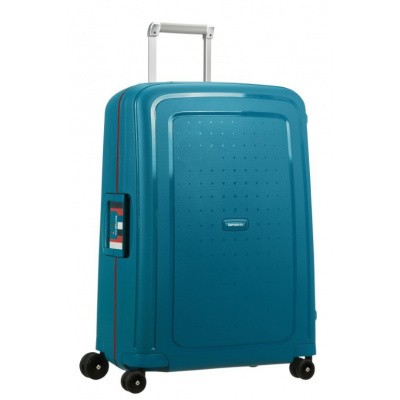 Samsonite S'Cure Spinner 69/25 Petrol Blue Stripes