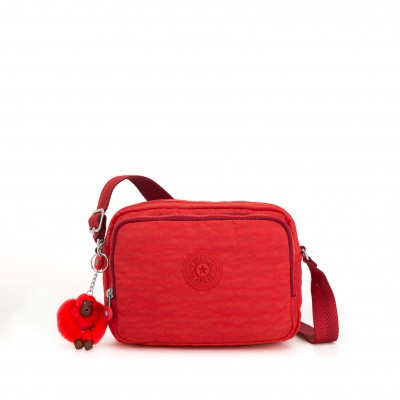 Kipling Silen Crossbody Active Red