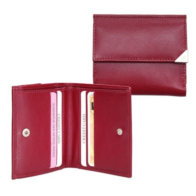 dR Amsterdam Billfold 15535 Red