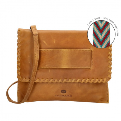 Foto van ​MicMacBags Dames Clutch/Avondtasje Friendship 18659 Camel