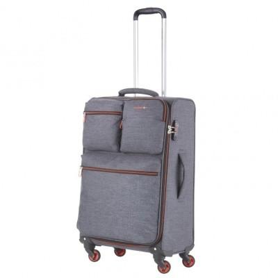 Foto van CarryOn Trolley 67 cm Cargo Grey
