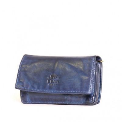 Foto van Bear Design Dames Portemonnee 'Gilda' CL782 Blauw