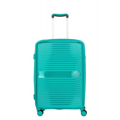 Travelite Ceris 4 Wiel Trolley M 075648 Groen