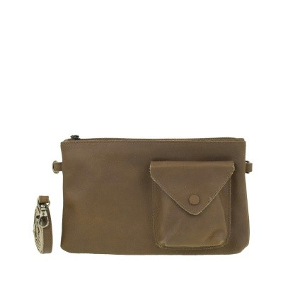 DSTRCT Riverside 011830 Clutch Pocket Cognac