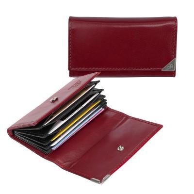 dR Amsterdam Creditcard-etui 15635 Red