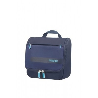 Foto van American tourister HEROLITE HANG.TOILET KIT MIDNIGHT BLUE