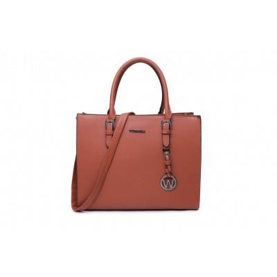 Wimona Bags Natalia One Schoudertas 3016 Cognac