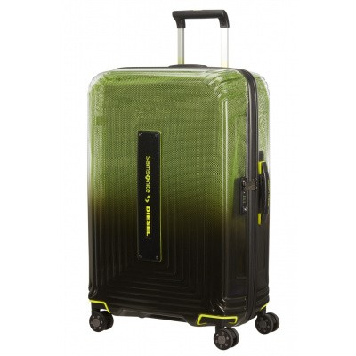 Foto van Samsonite Neopulse x Diesel Spinner 69/25 Black/Yellow
