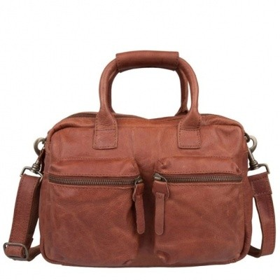 Foto van Cowboysbag The Little Bag 1346 Cognac