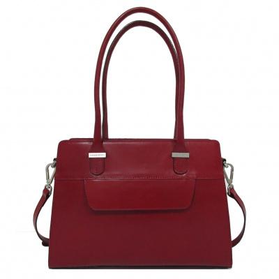 Claudio Ferrici Classico Handbag 18006 Red