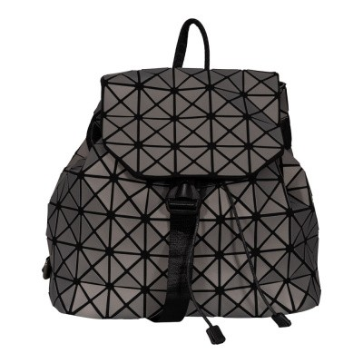 Malique Geometrical Rugtas 1108 Mat Grijs