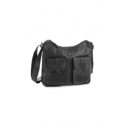 Spikes & Sparrow Saddlebag 11117 Black