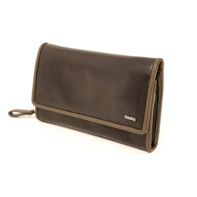 Foto van Berba Soft 001-203 Ladies Wallet Black-Taupe