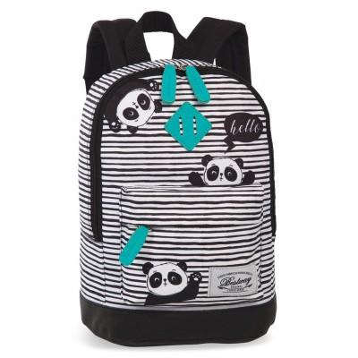 Foto van BestWay Kinderrugtas 40216 Zwart Turquoise Panda