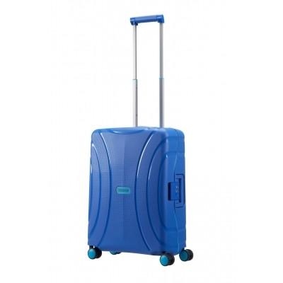 Foto van American tourister LOCK'N'ROLL SPINNER 55/20 SKYDIVER BLUE