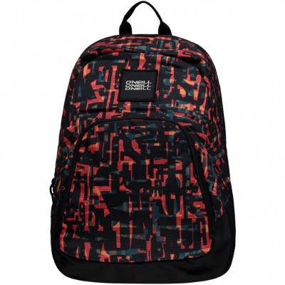 O'Neill Wedge Backpack 9M4022-3990 Red AOP