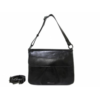 Claudio Ferrici Pelle Vecchia Shoulderbag 22060 Black