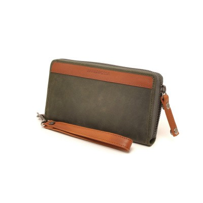 Foto van Barbarossa Strada 841-121 ladies wallet Forest