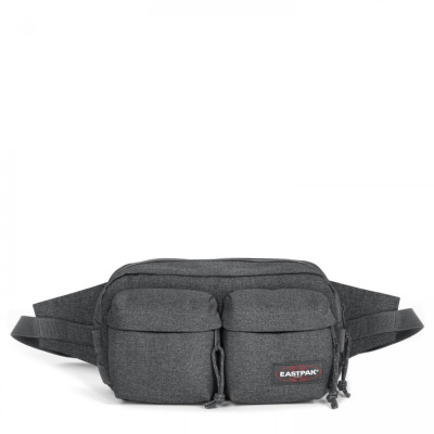 Foto van Eastpak BUMBAG DOUBLE Heuptas Black Denim