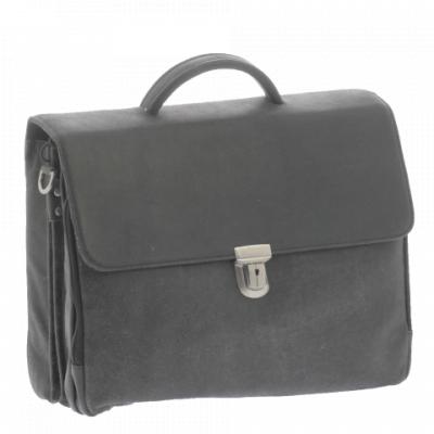 Foto van Plevier Business laptoptas 3 vaks 15.6 inch 33 Zwart